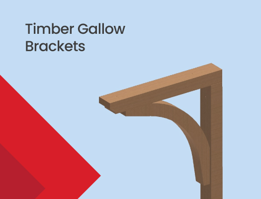 Timber Gallow Brackets