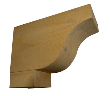 Timber Dentils 250 mm projection, planted foot F-D4