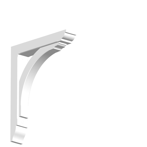 Duropolymer gallows bracket Projection 400mm SWL 35kg GBO2