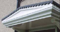 Cadgwith GRP Canopy