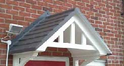 Sidmouth GRP Canopy